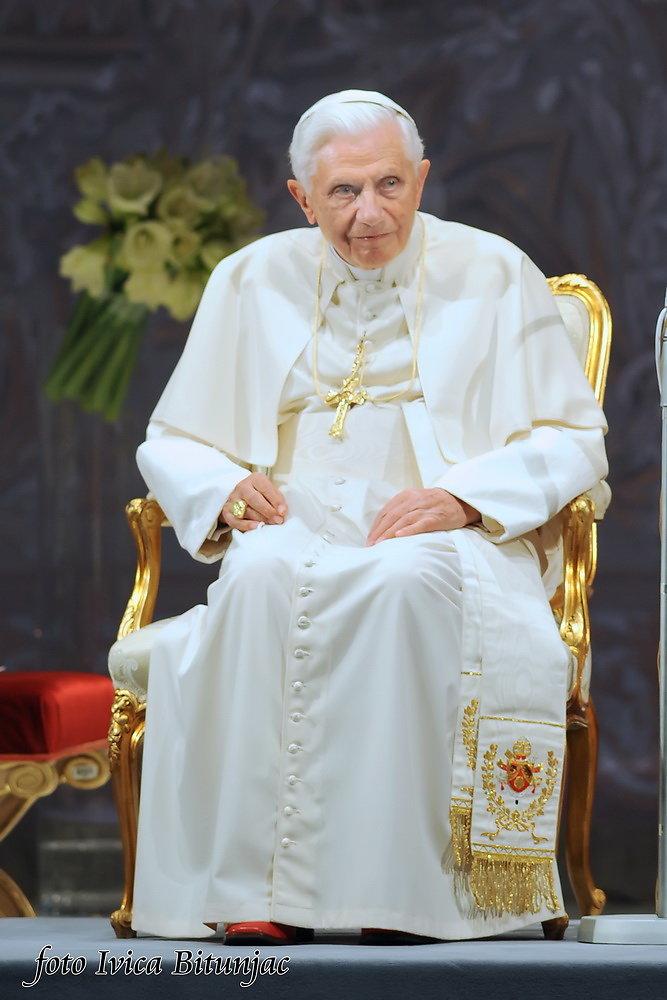 Papa Benedikt XVI. u Zagrebu