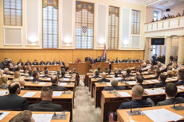 Konstituiranje 8. saziva Hrvatskog sabora