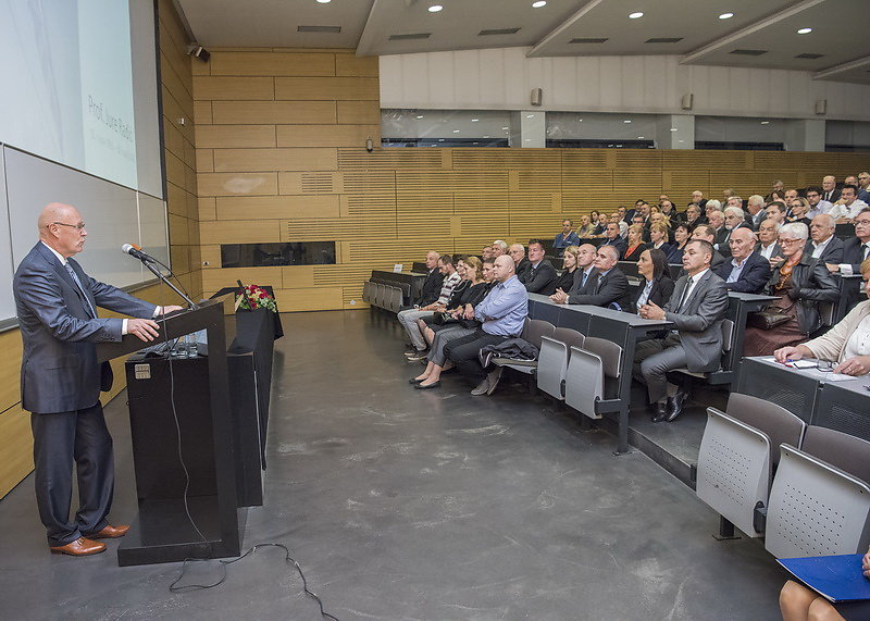 Komemoracija  Jure Radić, Građevinski fakultet,27.9.2016.